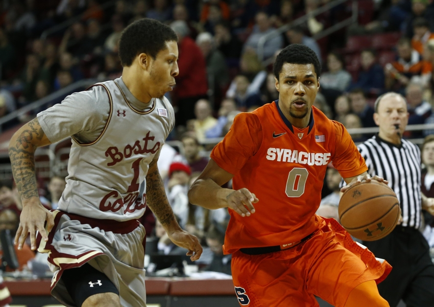 Syracuse Basketball Vs Boston College 4 Keys To The Game