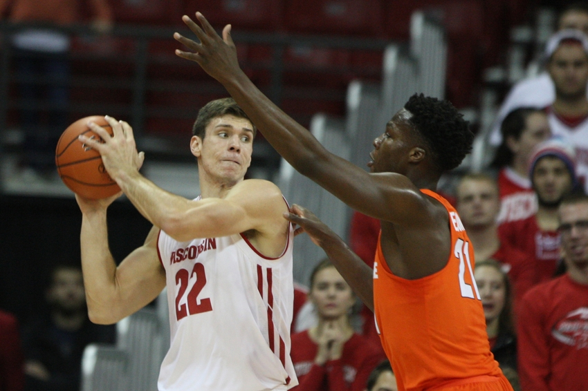 Syracuse Basketball Defeated by Wisconsin 77-60