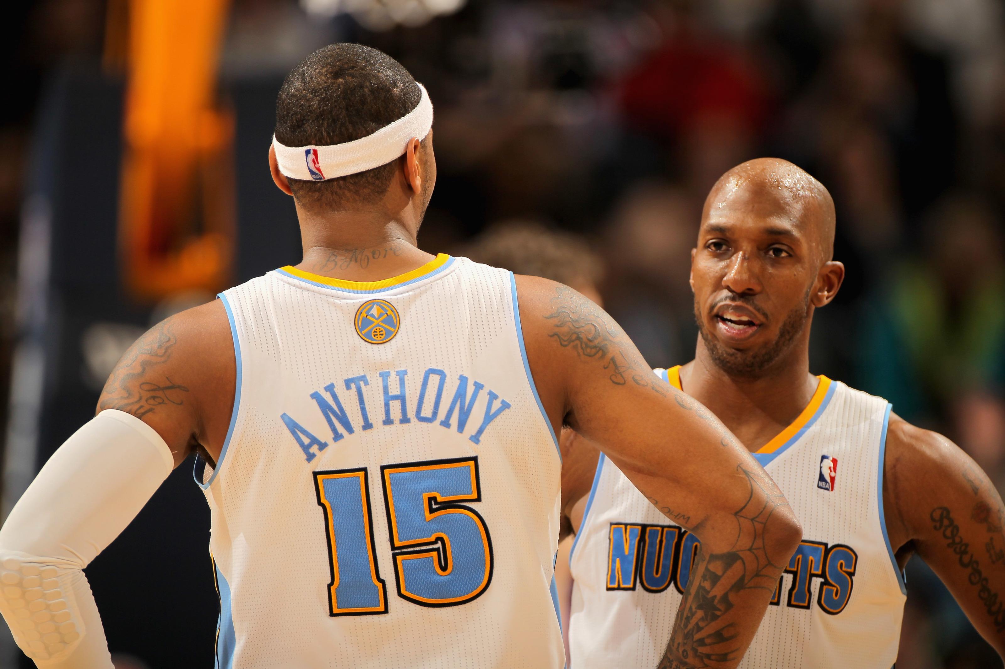 Carmelo Anthony Stats