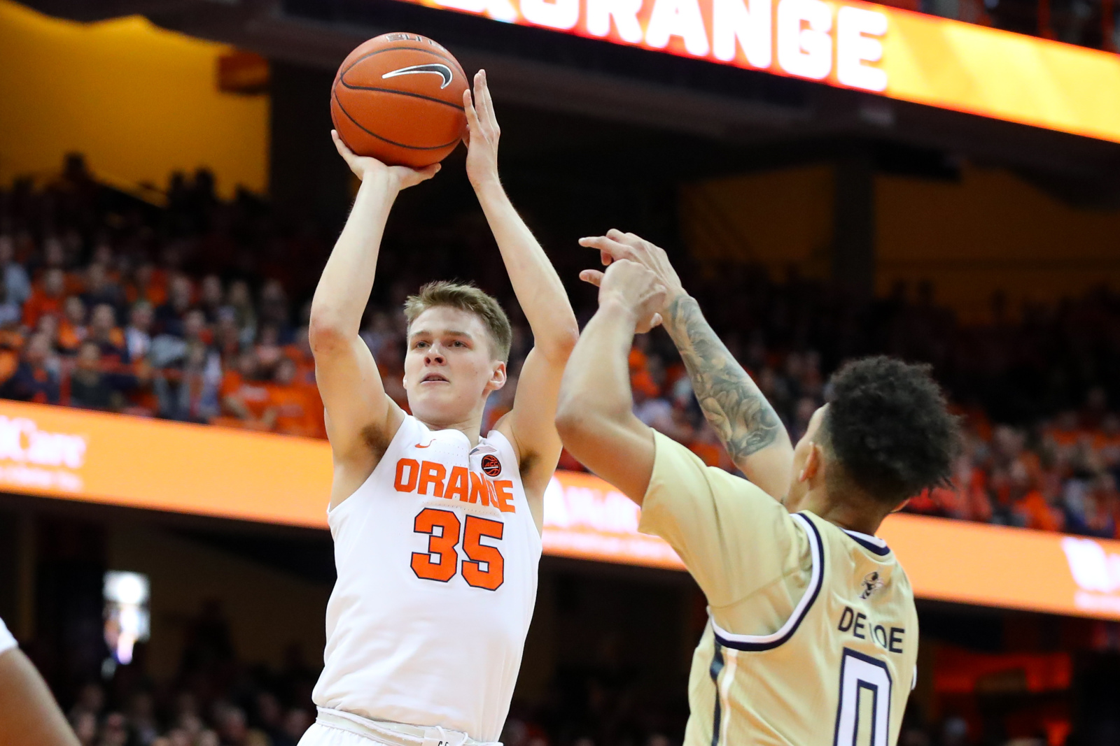 Syracuse basketball ends losing skid with series sweep over Georgia Tech