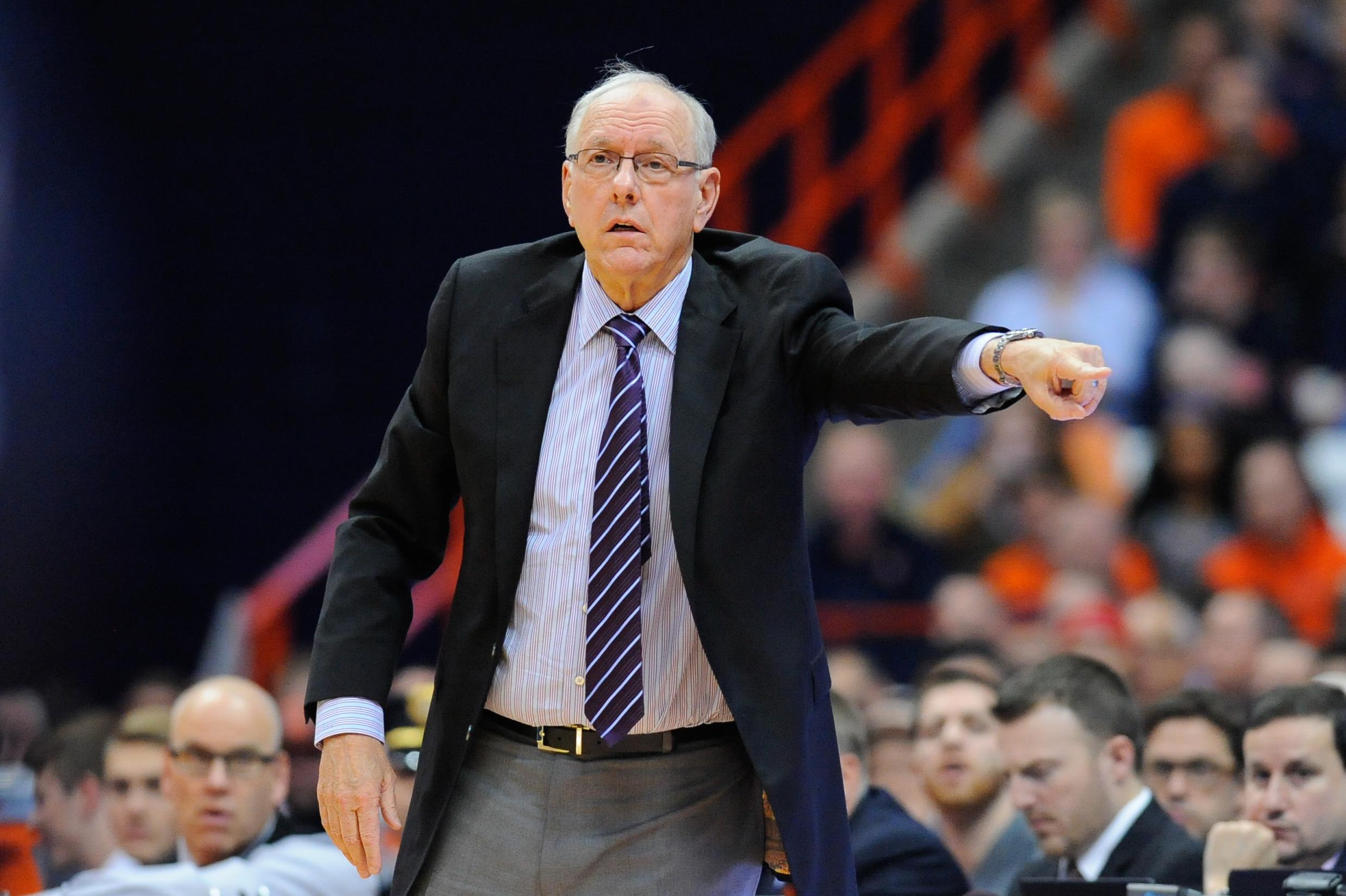 Syracuse Basketball Coach S Clipboard